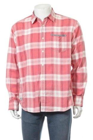Мъжка риза Tom Tailor, Размер L, Цвят Червен, Памук, Цена 9,83лв.