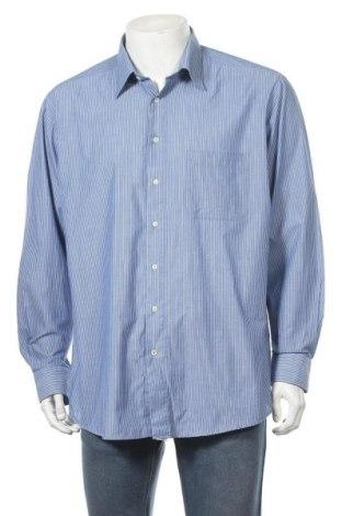 Мъжка риза Van Linnen, Размер XL, Цвят Син, Цена 5,83лв.