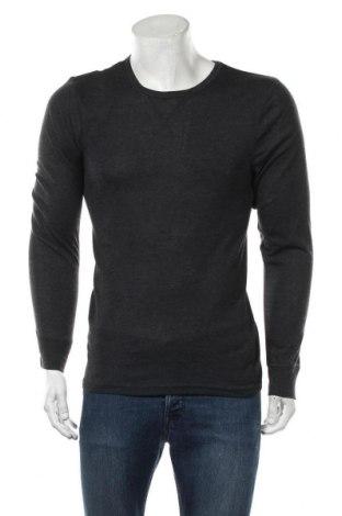 Мъжка спортна блуза Active By Tchibo, Размер M, Цвят Сив, Полиестер, Цена 11,30лв.