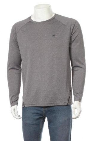 Мъжка спортна блуза Fila, Размер L, Цвят Сив, Цена 12,60лв.