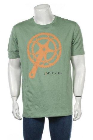 Tricou de bărbați, Mărime XL, Culoare Verde, Bumbac, Preț 77,37 Lei