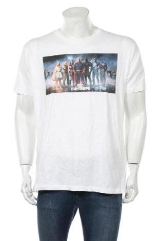 Мъжка тениска, Размер XL, Цвят Бял, Памук, Цена 12,00лв.