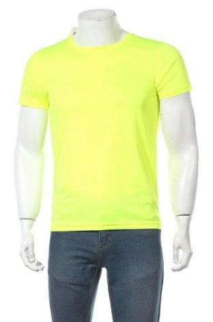 Мъжка тениска Clique, Размер S, Цвят Жълт, Памук, Цена 16,32лв.