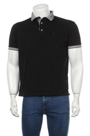 Мъжка тениска Emporio Armani, Размер L, Цвят Черен, Памук, Цена 104,25лв.