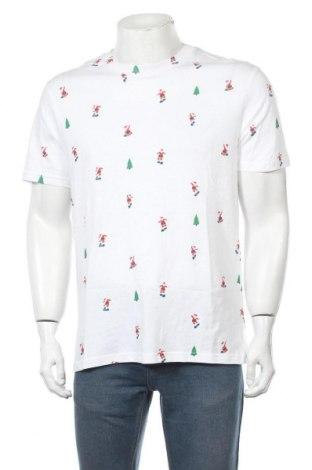 Мъжка тениска Lefties, Размер M, Цвят Бял, Памук, Цена 21,00лв.
