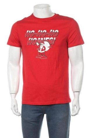 Мъжка тениска Lft, Размер M, Цвят Червен, Памук, Цена 21,00лв.