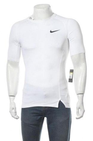 Мъжка тениска Nike, Размер S, Цвят Бял, 92% полиестер, 8% еластан, Цена 51,75лв.