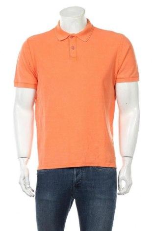 Мъжка тениска Only & Sons, Размер L, Цвят Оранжев, Памук, Цена 14,88лв.
