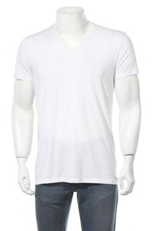 Tricou de bărbați Uniqlo, Mărime L, Culoare Alb, 34% viscoză, 33% poliester, 28%acril, 5% elastan, Preț 41,78 Lei