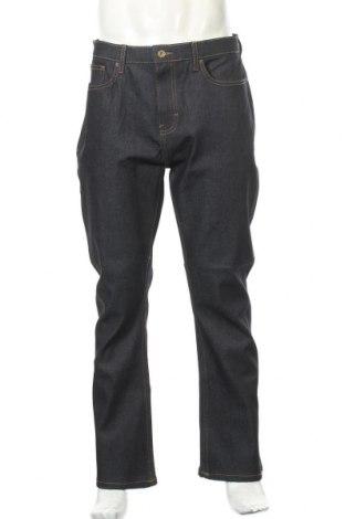 Мъжки дънки, Размер L, Цвят Син, 99% памук, 1% еластан, Цена 33,80лв.