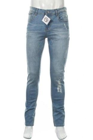 Blugi de bărbați Shine Original, Mărime M, Culoare Albastru, 91% bumbac, 7% poliester, 2% elastan, Preț 72,63 Lei