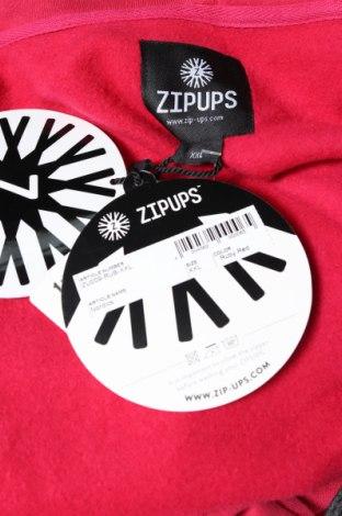 Мъжки гащеризон Zipups, Размер XXL, Цвят Розов, 80% памук, 20% полиестер, Цена 51,62лв.