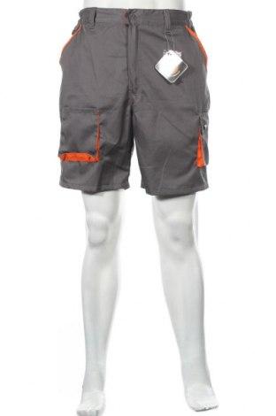 Мъжки къс панталон, Размер M, Цвят Сив, 65% памук, 35% полиестер, Цена 27,00лв.