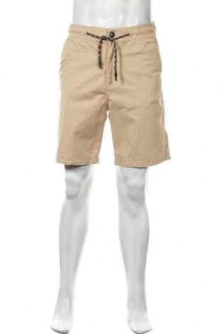Мъжки къс панталон Anerkjendt, Размер M, Цвят Бежов, 98% памук, 2% еластан, Цена 24,15лв.