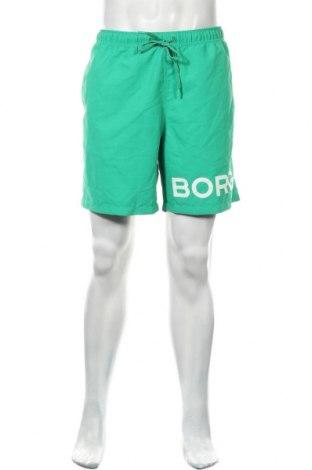 Мъжки къс панталон Bjorn Borg, Размер L, Цвят Зелен, Полиестер, Цена 14,75лв.
