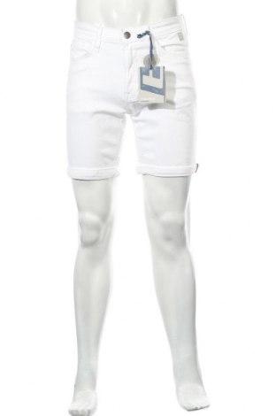 Мъжки къс панталон Blend, Размер M, Цвят Бял, 98% памук, 2% еластан, Цена 21,60лв.