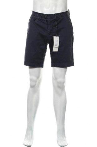 Мъжки къс панталон Casual Friday, Размер L, Цвят Син, 97% памук, 3% еластан, Цена 20,70лв.