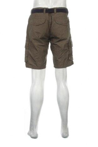 Мъжки къс панталон Dstrezzed, Размер L, Цвят Зелен, Памук, Цена 33,60лв.