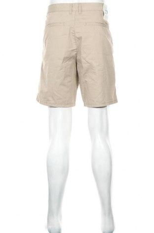 Мъжки къс панталон Edc By Esprit, Размер L, Цвят Бежов, Памук, Цена 18,90лв.