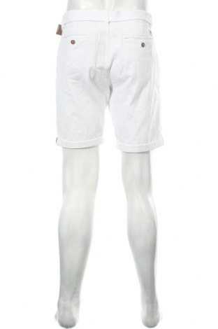 Мъжки къс панталон Indicode, Размер L, Цвят Бял, 98% памук, 2% еластан, Цена 24,01лв.
