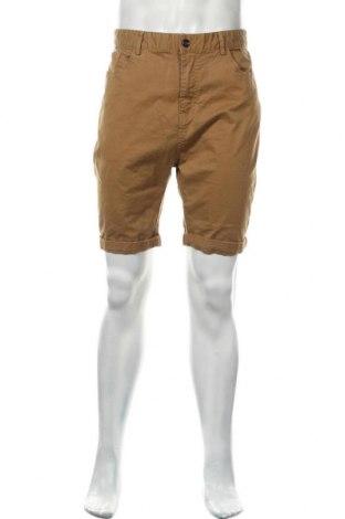 Мъжки къс панталон Italy Morn, Размер XXL, Цвят Бежов, 98% памук, 2% еластан, Цена 20,70лв.