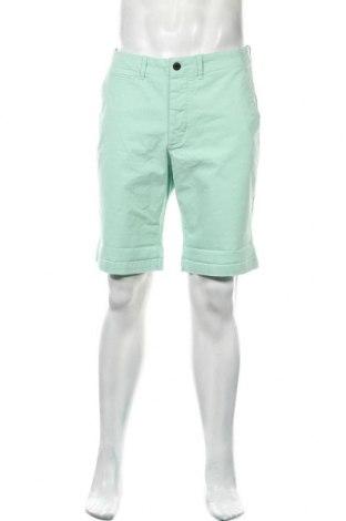 Ανδρικό κοντό παντελόνι Jack & Jones, Μέγεθος L, Χρώμα Πράσινο, 98% βαμβάκι, 2% ελαστάνη, Τιμή 13,68€