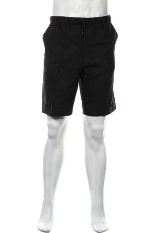 Мъжки къс панталон Meraki, Размер L, Цвят Черен, Лен, Цена 17,44лв.