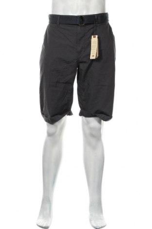 Мъжки къс панталон Petrol Industries, Размер 3XL, Цвят Сив, Памук, Цена 22,42лв.