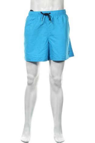 Pantaloni scurți de bărbați Reebok, Mărime XL, Culoare Albastru, Poliester, Preț 83,23 Lei