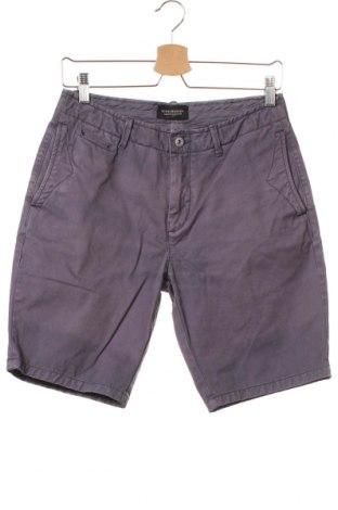 Мъжки къс панталон Scotch & Soda, Размер S, Цвят Лилав, 100% памук, Цена 13,85лв.