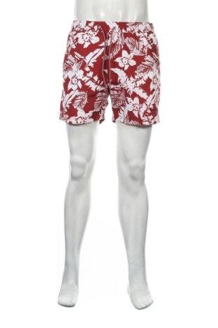 Pantaloni scurți de bărbați Springfield, Mărime L, Culoare Roșu, Poliester, Preț 77,37 Lei