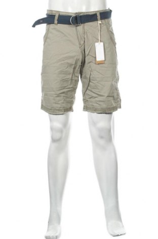 Мъжки къс панталон Timezone, Размер S, Цвят Зелен, Памук, Цена 21,84лв.