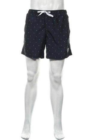 Мъжки къс панталон Tom Tailor, Размер M, Цвят Син, Полиестер, Цена 11,96лв.