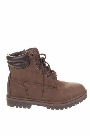 Мъжки обувки Pull&Bear, Размер 39, Цвят Кафяв, Еко кожа, Цена 27,96лв.