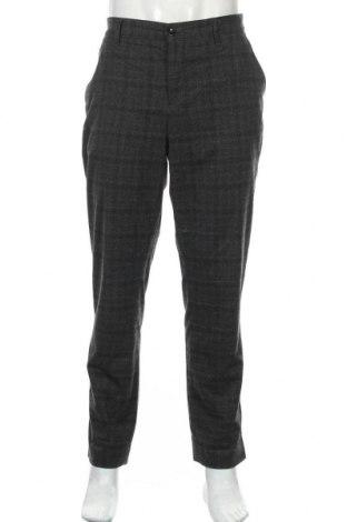 Мъжки панталон Alberto, Размер XL, Цвят Сив, 69% полиестер, 29% вискоза, 2% еластан, Цена 12,70лв.