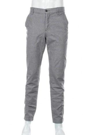 Мъжки панталон Alberto, Размер L, Цвят Сив, 97% памук, 3% еластан, Цена 27,67лв.