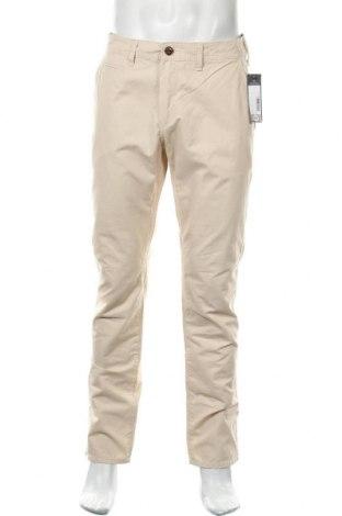 Мъжки панталон Angelo Litrico, Размер L, Цвят Бежов, Памук, Цена 11,08лв.