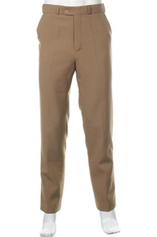Мъжки панталон Canda, Размер S, Цвят Бежов, Полиестер, Цена 6,30лв.