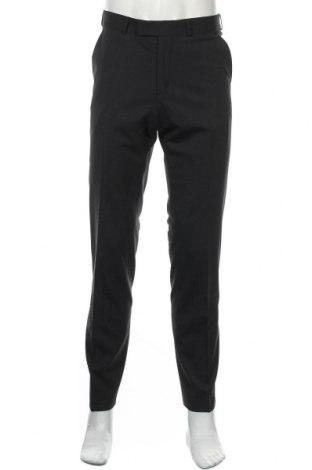 Мъжки панталон Club Of Gents, Размер S, Цвят Син, 68% полиестер, 30% вълна, 2% еластан, Цена 15,30лв.