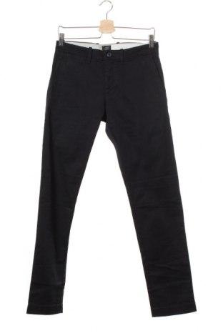 Мъжки панталон J.Crew, Размер S, Цвят Син, 99% памук, 1% еластан, Цена 15,08лв.