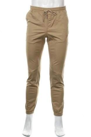 Pantaloni de bărbați Jack & Jones, Mărime S, Culoare Bej, 98% bumbac, 2% elastan, Preț 28,30 Lei