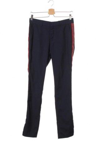 Мъжки панталон New Look, Размер S, Цвят Син, 66% полиестер, 32% вискоза, 2% еластан, Цена 3,61лв.