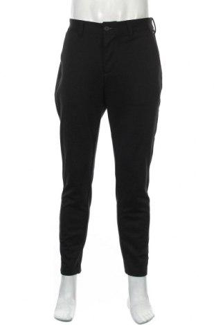 Мъжки панталон Only & Sons, Размер L, Цвят Черен, 76% полиестер, 20% вискоза, 4% еластан, Цена 23,50лв.