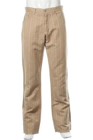 Мъжки панталон Part Two, Размер M, Цвят Кафяв, 60% лен, 40% памук, Цена 9,86лв.