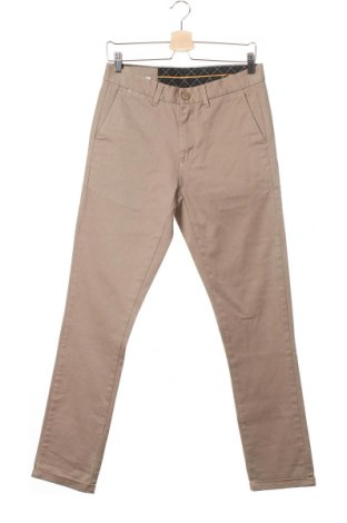 Мъжки панталон SUN68, Размер S, Цвят Бежов, 98% памук, 2% еластан, Цена 21,26лв.