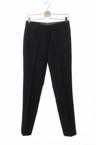 Мъжки панталон SUN68, Размер S, Цвят Син, 70% полиестер, 20% вискоза, 10% вълна, Цена 13,76лв.