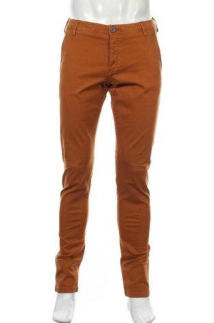 Мъжки панталон Selected Homme, Размер S, Цвят Оранжев, 98% памук, 2% еластан, Цена 19,69лв.