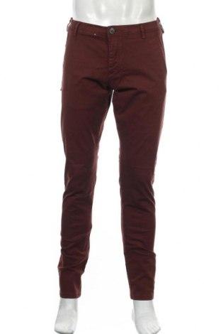 Мъжки панталон Selected Homme, Размер M, Цвят Лилав, 98% памук, 2% еластан, Цена 14,96лв.
