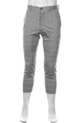 Мъжки панталон Uniqlo, Размер S, Цвят Бял, 66% полиестер, 32% вискоза, 2% еластан, Цена 6,12лв.