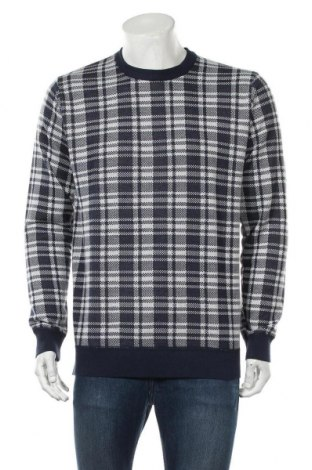 Мъжки пуловер Brave Soul, Размер L, Цвят Син, Полиестер, Цена 24,44лв.